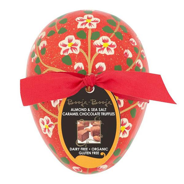 Almond & Sea Salt Caramel Chocolate Easter Truffles Gluten Free, Vegan, ORGANIC