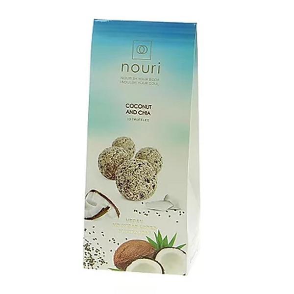 Truffles Coconut & Chia Gluten Free, sugar free, Vegan