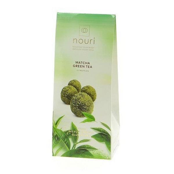 Matcha Green Tea Chocolate Truffles Gluten Free, Vegan