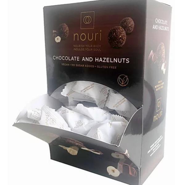 100 Chocolate & Hazelnut Truffles Gluten Free, Vegan
