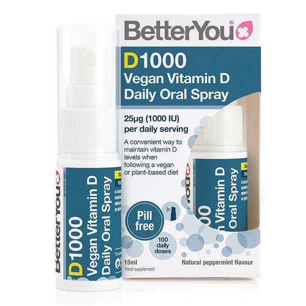 Vitamin D Oral Spray DLux sugar free, Vegan