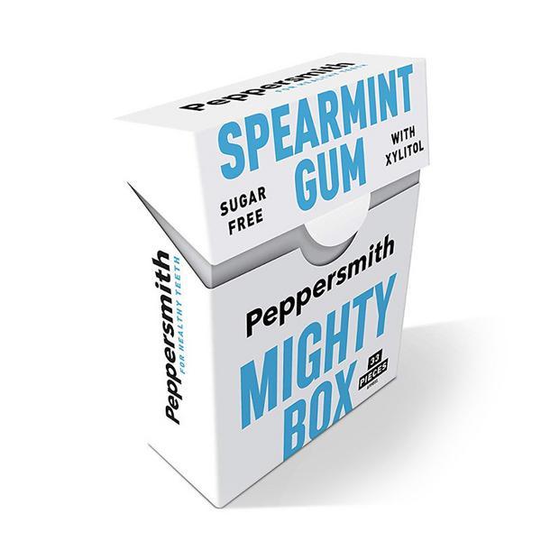 Spearmint Gum Mighty Box Vegan