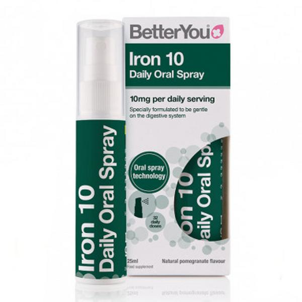 Iron 10 Daily Oral Spray Vegan