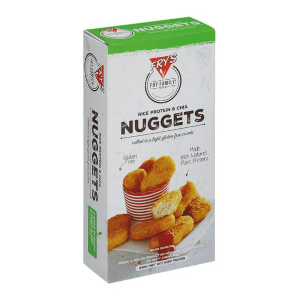 Rice Protein & Chia Nuggets Gluten Free, Vegan