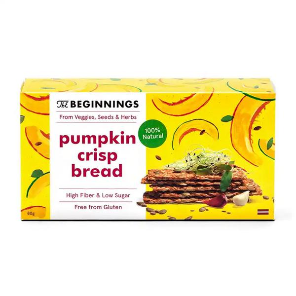 Pumpkin Crispbreads Gluten Free, Vegan
