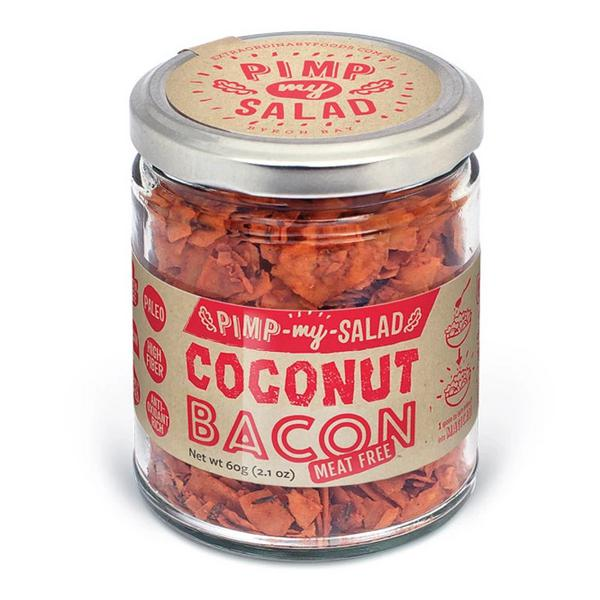 Meat Free Coconut Bacon Gluten Free, Vegan