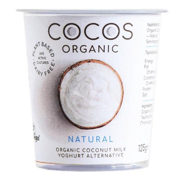 Natural Coconut Yoghurt Alternative dairy free, Gluten Free, Vegan
