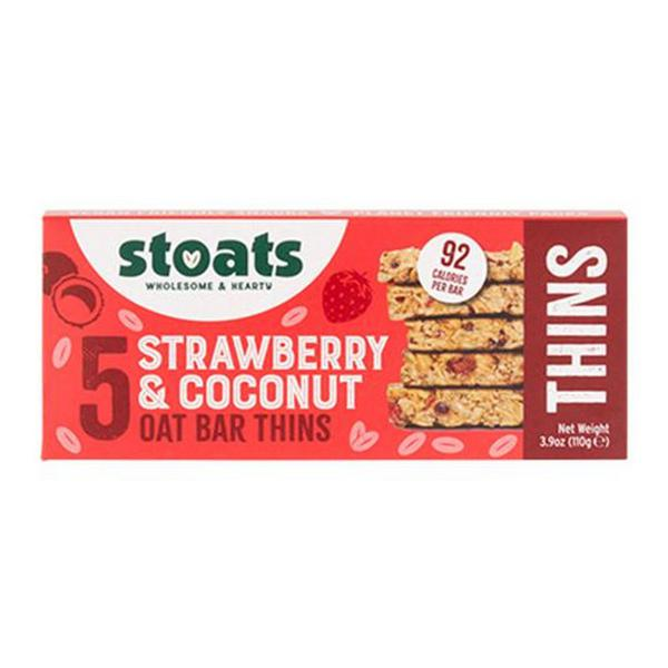 Strawberry & Coconut Oat Bar Thins Multipack Vegan