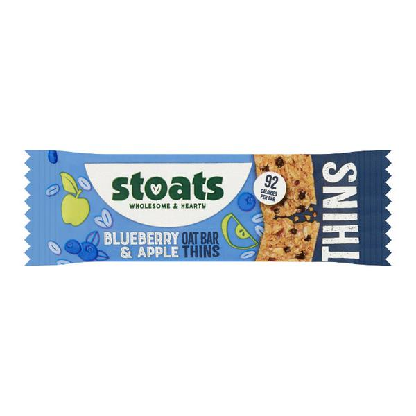 Blueberry & Apple Oat Bar Thins Vegan
