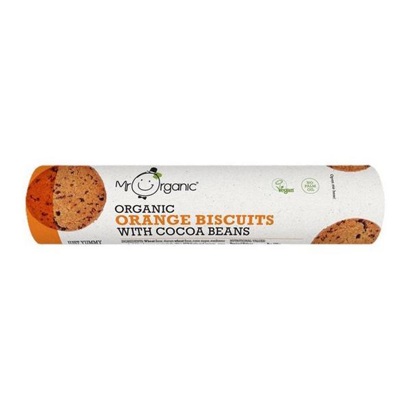 Orange & Cocoa Beans Biscuits Vegan, ORGANIC