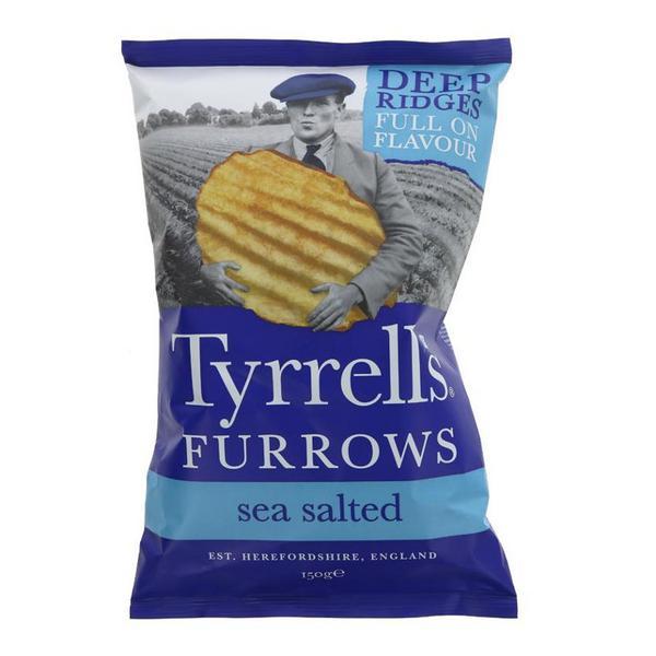 Sea Salted Crisps Vegan
