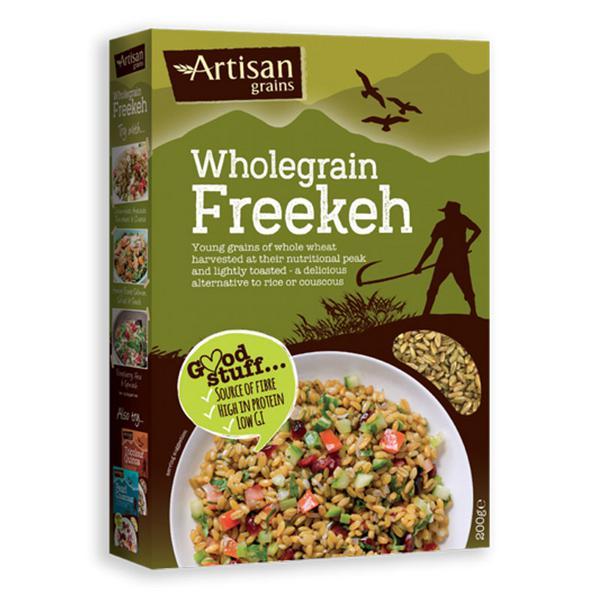 Wholegrain Freekeh Vegan