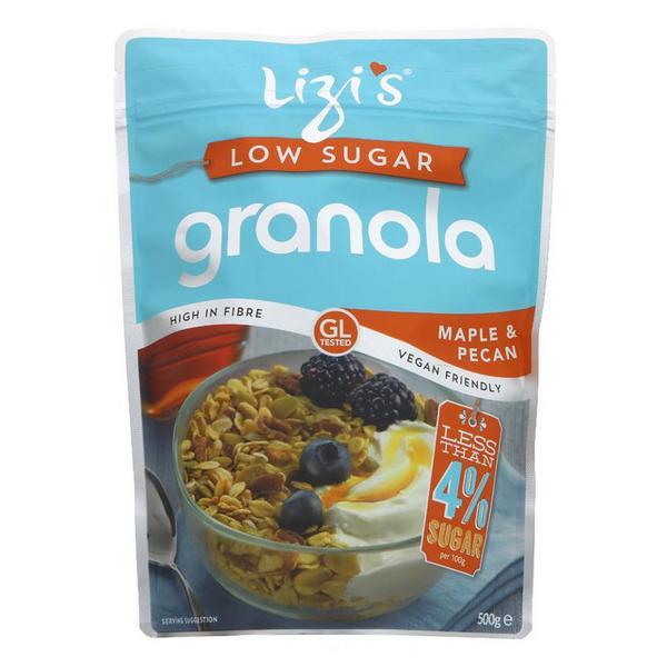 Maple & Pecan Low Sugar Granola Vegan