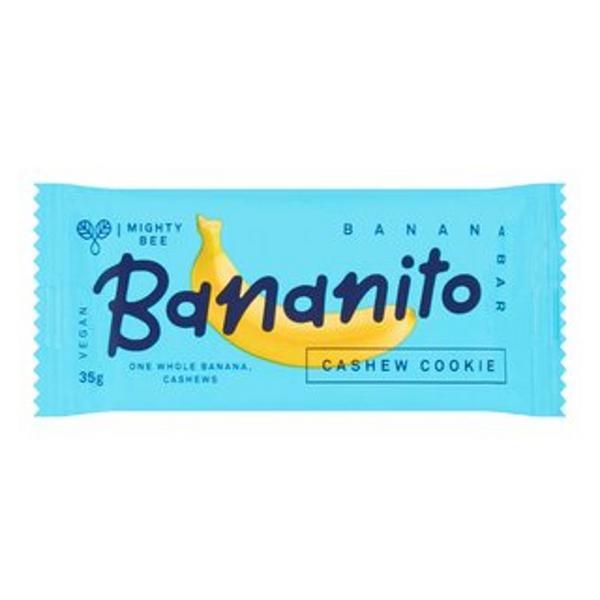 Cashew Cookie Banana Bar Gluten Free, Vegan, ORGANIC