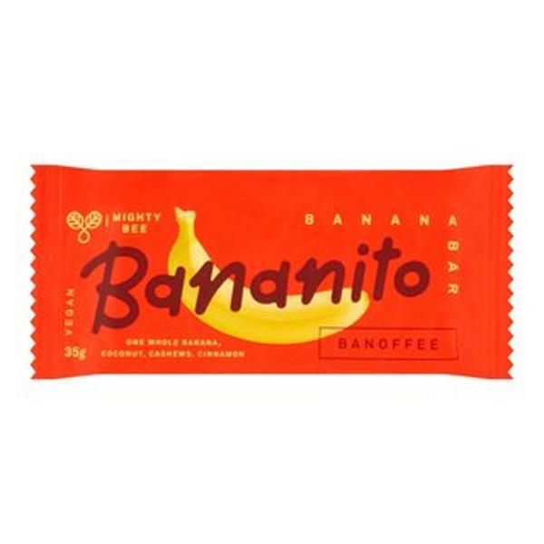 Banoffee Banana Bar Gluten Free, Vegan, ORGANIC