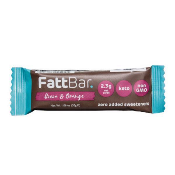 Cocoa & Orange Snackbar Gluten Free, Vegan