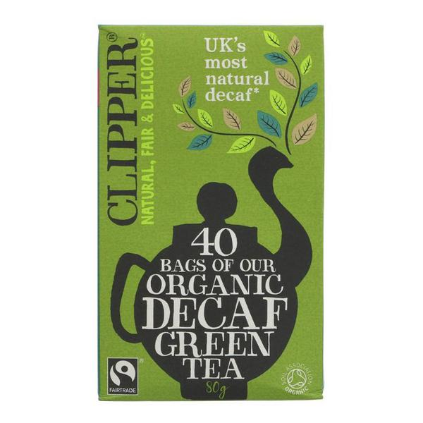 Decaffeinated Green Tea Vegan, FairTrade, ORGANIC
