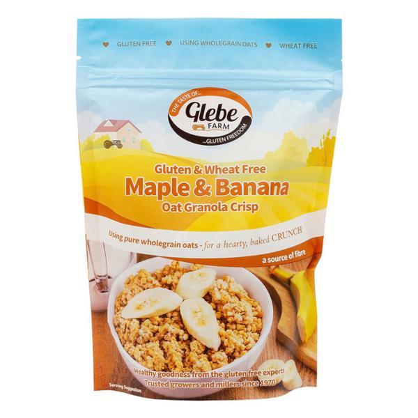 Maple & Banana Granola Gluten Free