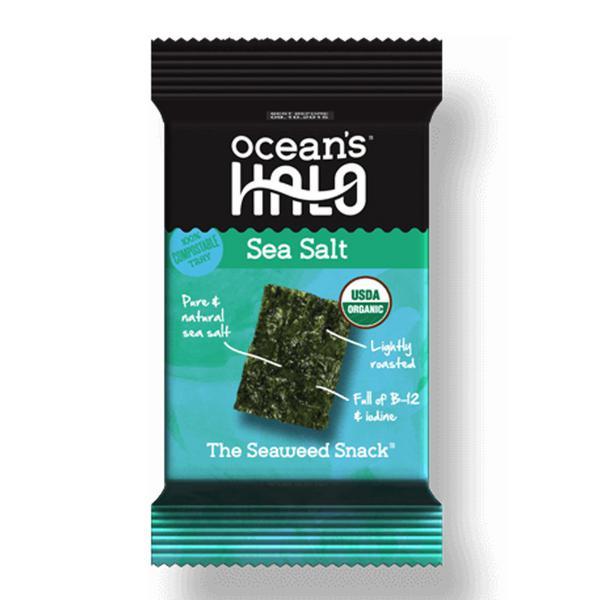 Sea Salt Seaweed Snack Vegan, ORGANIC