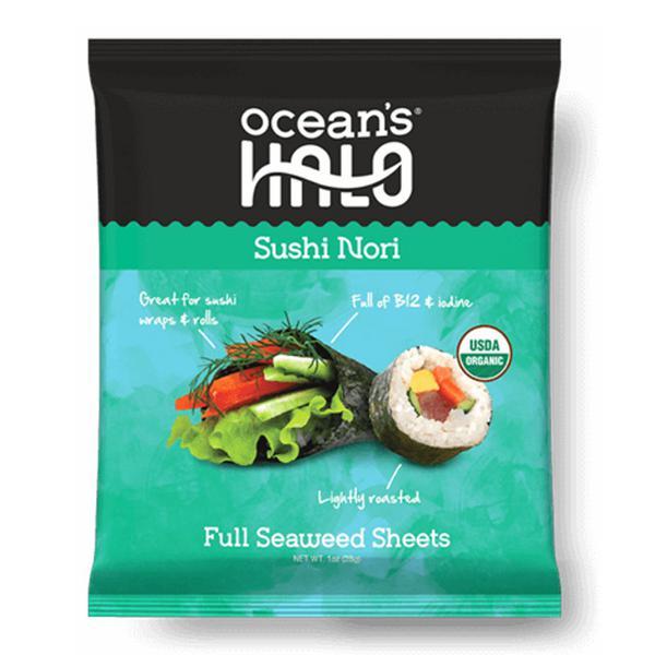 Sushi Nori Seaweed Sheets Vegan, ORGANIC