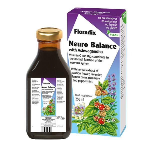 Neuro Balance With Ashwagandha Supplement Gluten Free, Vegan