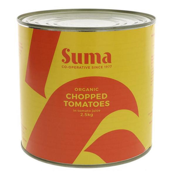 Chopped Tomatoes Vegan, ORGANIC