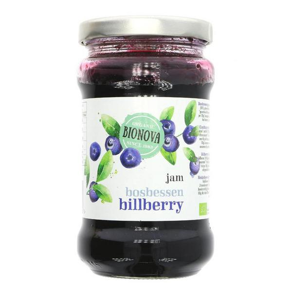 Bilberry Jam Vegan, ORGANIC