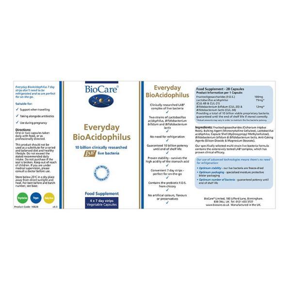 Everyday BioAcidophilus Supplement  image 2