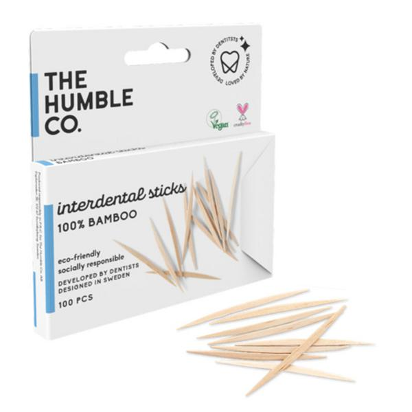 Bamboo Interdental Sticks Toothpicks  image 2