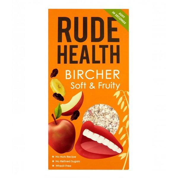 Soft & Fruity Bircher Muesli sugar free, Vegan