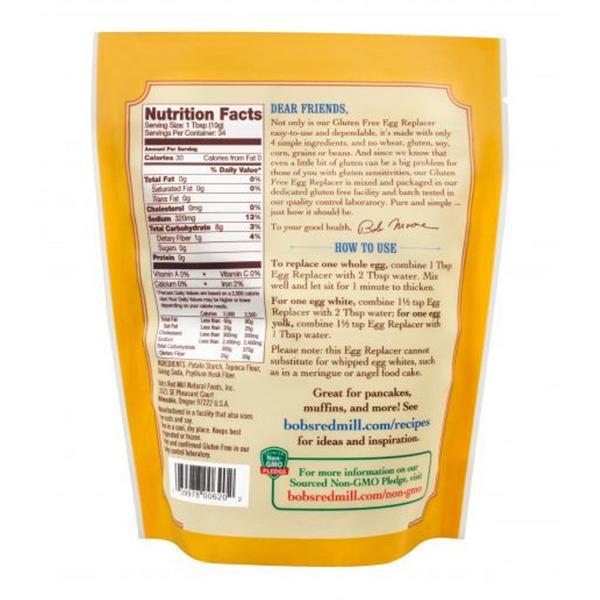 Egg Replacer Gluten Free, Vegan image 2