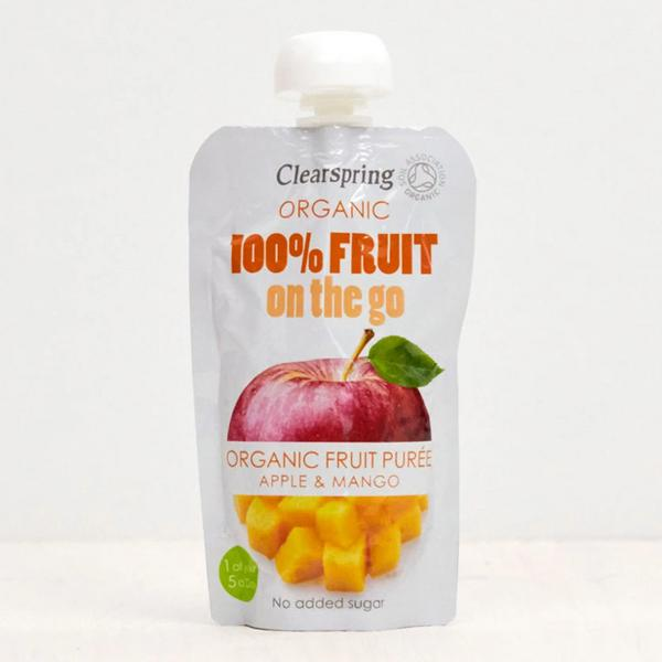 Apple & Mango Puree 100% Fruit On The Go Vegan, ORGANIC