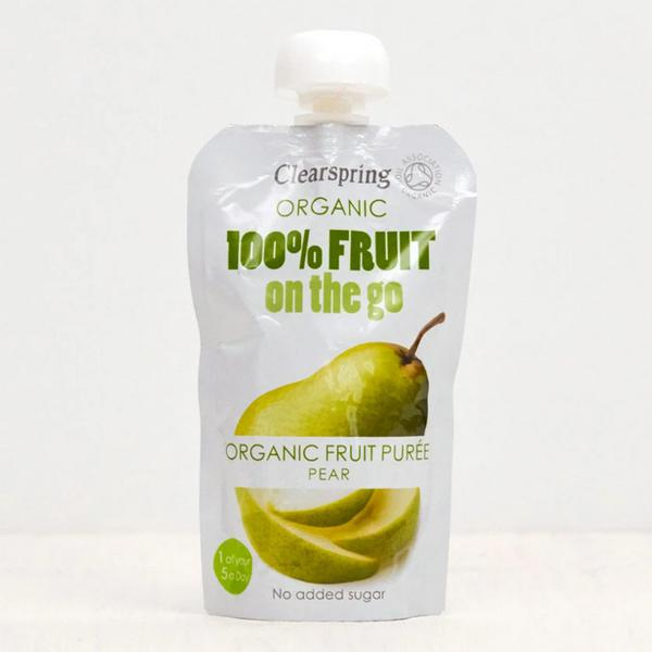 Pear Puree 100% Fruit On The Go