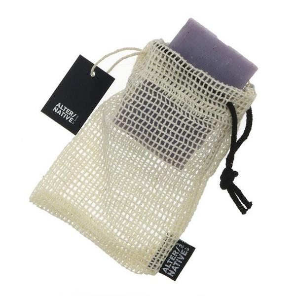 Cotton Soap Bag Vegan, ORGANIC image 2