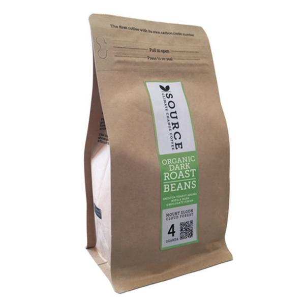 Mount Elgon Cloud Forest Medium Roast Beans Coffee Strength 4 Uganda ORGANIC
