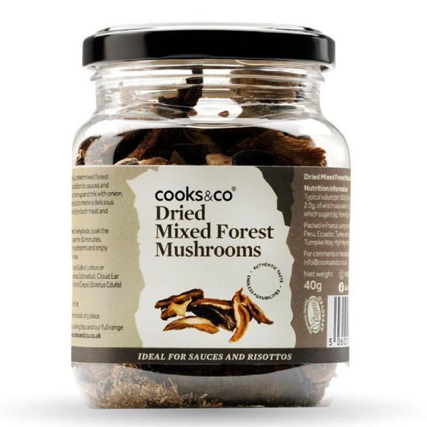 Mixed Forest Mushrooms Vegan, ORGANIC