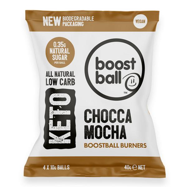 Choca Mocha Keto Balls Gluten Free, Vegan