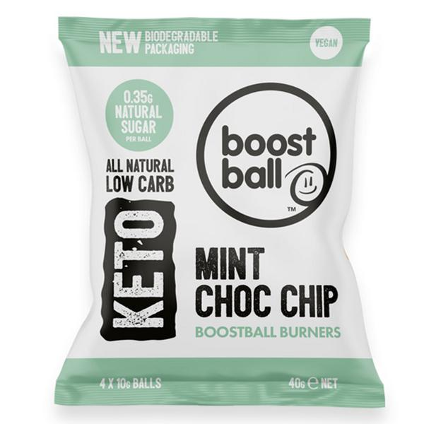 Mint Choc Chip Keto Balls Gluten Free, Vegan