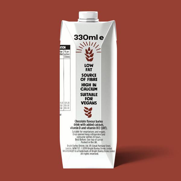 Chocolate Barley Drink Vegan image 2