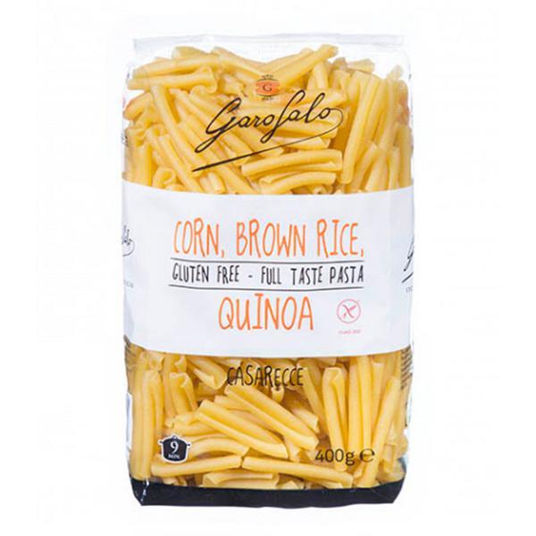 Corn,Brown Rice & Quinoa Casarecce Pasta dairy free, Gluten Free