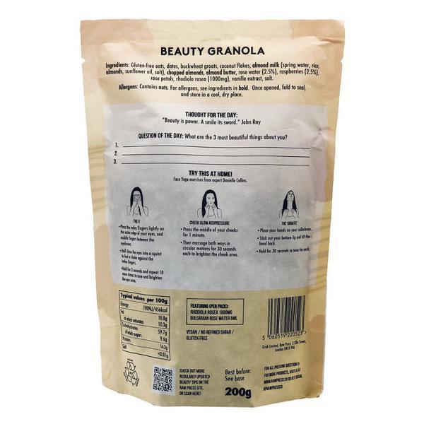 Beauty Adaptogenic Granola Gluten Free, Vegan image 2