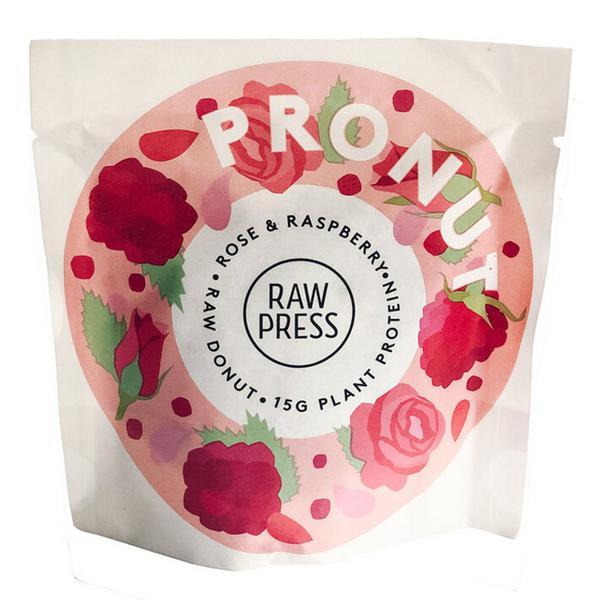 Rose & Raspberry Protein Pronut Donut Vegan
