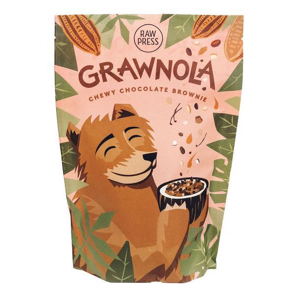 Grawnola Chewy Chocolate Brownie Granola dairy free, Gluten Free, Vegan
