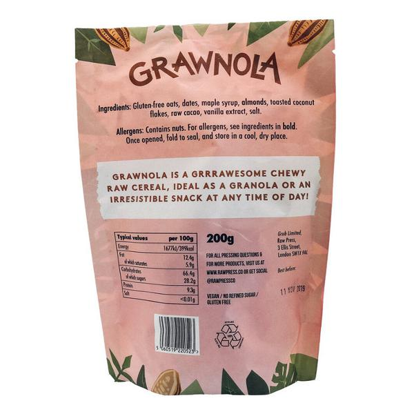 Grawnola Chewy Chocolate Brownie Granola dairy free, Gluten Free, Vegan image 2