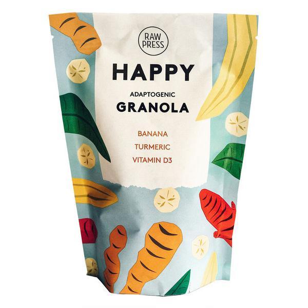 Happy Adaptogenic Granola Gluten Free, Vegan