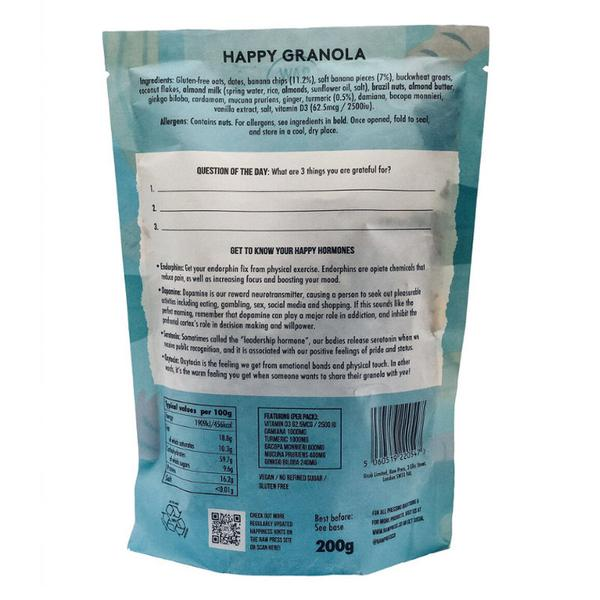 Happy Adaptogenic Granola Gluten Free, Vegan image 2