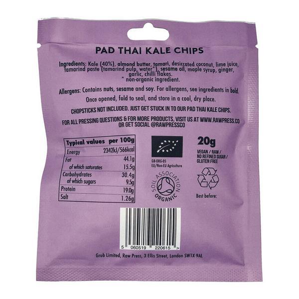 Pad Thai Kale Chips Gluten Free, Vegan, ORGANIC image 2