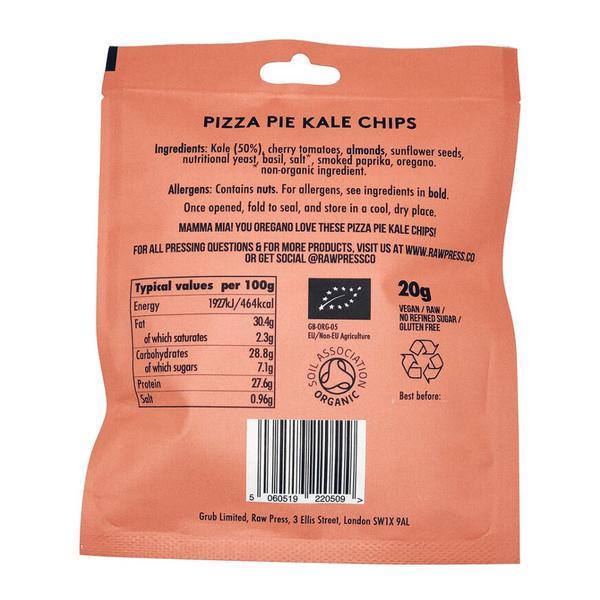 Pizza Pie Kale Chips Gluten Free, Vegan, ORGANIC image 2