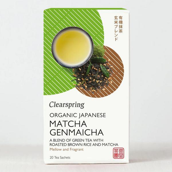 Japanese Matcha Genmaicha Tea Vegan, ORGANIC