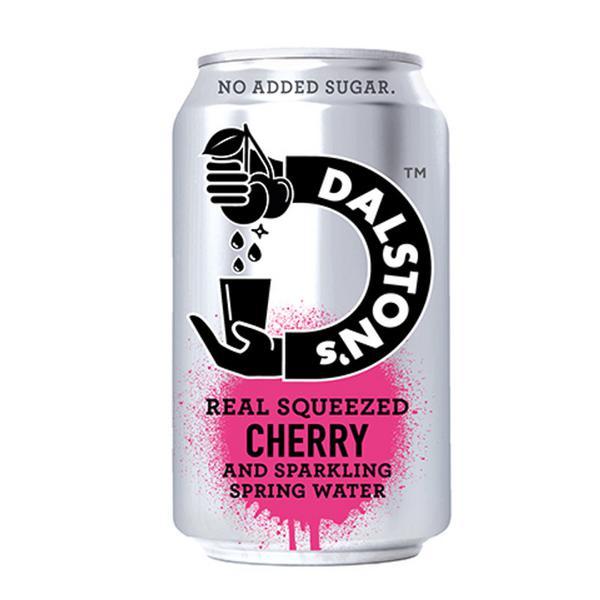 Cherry Seltzer Drink Vegan
